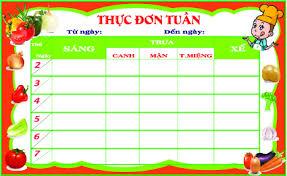 Thực đơn tham khảo cho trẻ tuần 1 và tuần 3 tháng 09/2020